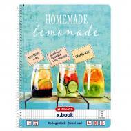 Блокнот А4 80 аркушів клітинка Come on Summer Homemade Lemonade 50036196H Herlitz