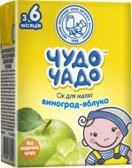 Сік Jaffa виноградно-яблучний освітлений 0,125л