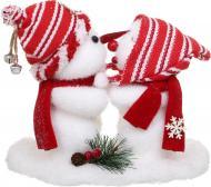 Декоративна фігура Пара сніговиків F418A643-1 20 см
