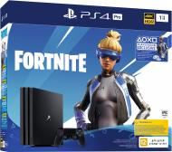 Ігрова консоль Sony PlayStation 4 Pro 1Tb Fortnite (9941507) black