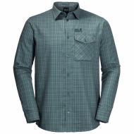 Рубашка Jack Wolfskin ISLAND PEAK SHIRT M 1403311-7637 р. 46-48 синий