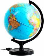Глобус політичний із підсвічуванням 32 см Тетрада