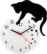 Годинник настінний Кішка CH018