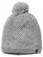 Шапка Jack Wolfskin STORMLOCK WOOL CAP WOMEN 1909011-6111 S сірий