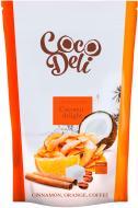 Чипси Coco Deli кокосові зі смаком апельсина, кориці і кави 30 г