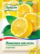 Кислота лимонна 20 г Первоцвіт (4820131810059)