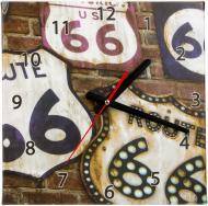 Годинник настінний Роут 66