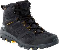 Ботинки Jack Wolfskin VOJO 3 TEXAPORE MID M 4042461-6055 р. UK 7,5 черно-желтый