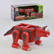 Детский магнитный конструктор Magformers Динозавр LQ 623 18 деталей Красный (2-LQ623-73716)
