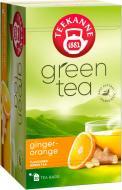 Чай зелений Teekanne Зелений з Апельсином та Імбиром (4009300524281) 20 шт. 60 г