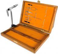 Набір інструментів Lineaeffe для в'язання мушок 7 найменувань в дерев'яній коробці 5030010