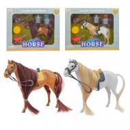Фигурка Лошадь 1228B с аксессуарами (в ассортименте)