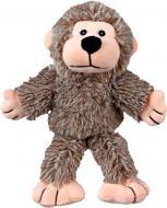 М'яка іграшка для собак мавпочка плюшева з пискавкою