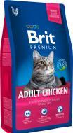 Корм Brit Premium Cat Adult Chicken 1,5 кг