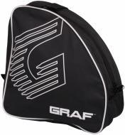 Спортивна сумка GRAF Skate Bag 25021 чорний із білим