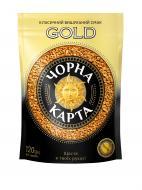 Кава розчинна Чорна Карта Gold 120 г