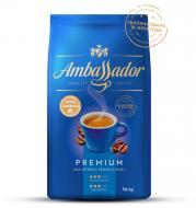 Кава в зернах Ambassador Premium 1000 г