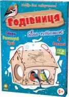 Деревянный 3D-конструктор Зірка Кормушка для птиц 101605