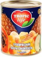Коктейль Tropic Life Тропічний фруктовий у сиропі 425 мл 420 г
