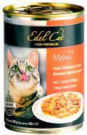 Консерва Edel Cat три види м'яса птиці 400 г