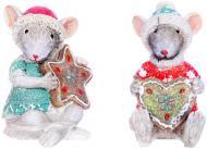 Фигурка декоративная Lefard Мишка с пряником 5,5х5,5х8 см 192-014
