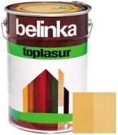 Краска-лазурь Belinka Toplasur 13 сосна полуглянец 10 л
