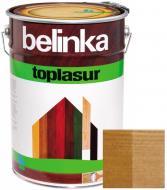 Краска-лазурь Belinka Toplasur 16 орех полуглянец 10 л