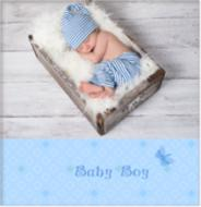 Фотоальбом 20sheet S22x32 Baby Blue UFO
