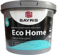 Фарба фасадна вапняна Bayris ECO HOME мат білий 7кг