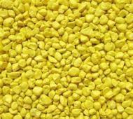 Пісок декоративний Gutti 134 Lemon yellow, 0,8-1,2 мм, 300 г