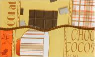 Скатертина Модерн вініл 137x183 см жовтий Lotti