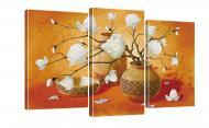 Картина модульна Квіти 245 акц. 100x53 см