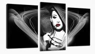 Картина модульная Гламур 481 акц. 100x53 см