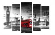 Картина модульная Города 497 118x80 см