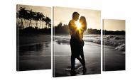 Картина модульная Романтика 150 акц. 100x53 см