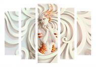 Картина модульная Романтика L-589 118x80 см