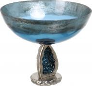 Фруктовница синий 31х35 см PANACHE
