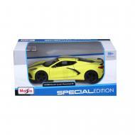Автомодель Maisto Chevrolet Corvette C8 1:24 31527 yellow