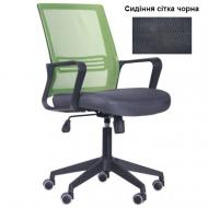Крісло AMF Art Metal Furniture Джун Tilt чорний/салатовий
