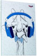 Блокнот Music note giraffe А5 Profiplan
