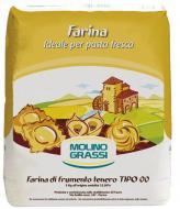Борошно Molino Grassi з м'яких сортів пшениці Pasta Fresca Tipo 1000 г