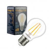 Лампа світлодіодна Светкомплект FIL VII A60 6 Вт E27 4500 К 220 В прозора