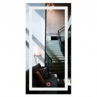 Зеркало прямоугольное с LED подсветкой во весь рост SmartWorld Crasula 120x80x3 см (1011-d371-120х80