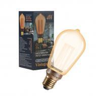 Лампа світлодіодна Светкомплект DECOsmd Gold ST64 4 Вт E27 2000 К 220 В жовта
