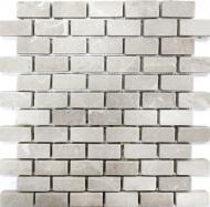 Плитка Vivacer Мозаїка № 02 Beige Marble Mosaic Tumbled 30,5x30,5