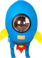 Рюкзак детский Supercute Ракета голубой SF038-c