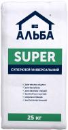 Клей універсальний АЛЬБА Super 25кг