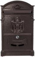 Почтовый ящик Antique коричневый