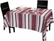 Комплект столовий 17,3 140x230 см червоний Едельвіка