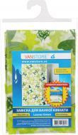 Штора для душу VanStore Leaves Green 610-03
